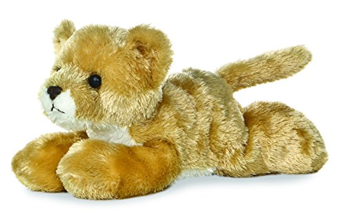 "Leah Lioness Mini Flopsie 8"" by Aurora - 1"