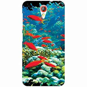 Printland Fishes Back Cover For HTC Desire 620G