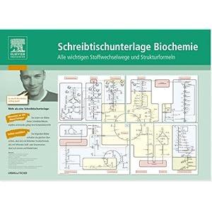 Schreibtischunterlage Biochemie