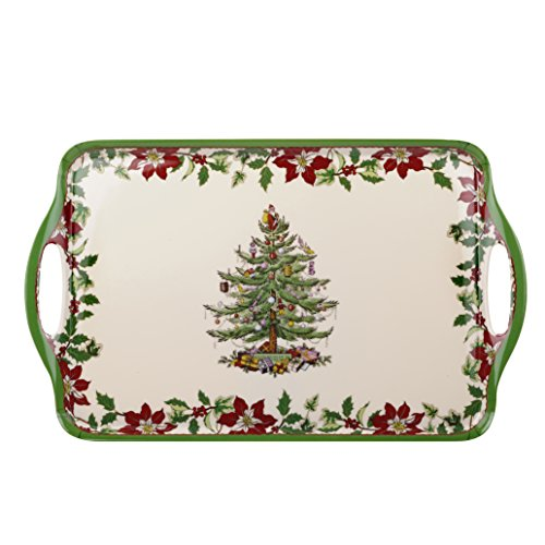 Spode Christmas Tree Melamine Handled Tray, Large (Christmas Tray compare prices)
