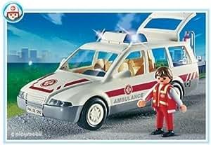 Playmobil - 4223 - Hôpital - Secouriste / Voiture