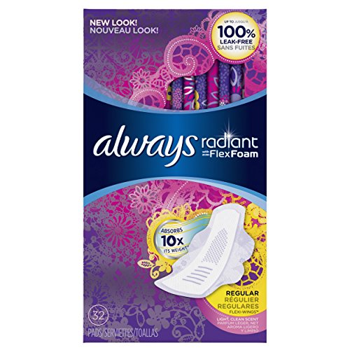 always-radiant-infinity-regular-with-wings-scented-pads-32-count