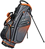 Hot-Z Golf 3.0 Stand Bag, Gray/Orange