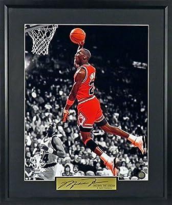 "Michael Jordan Chicago Bulls ""Spotlight"" 16x20 Photograph (SGA Signature Series) Framed"