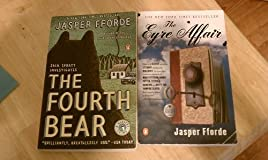 Set of 2 Jasper Fforde Books (The Eyre Affair, The Fourth Bear)
