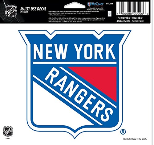 NHL New York Rangers Multi-Use Colored Decal, 5