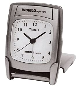Timex Unisex-Adult Travel Alarm Clock Large LCD with Snooze 3532T