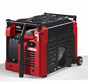 Briggs & Stratton Elite Series 3,000 Watt 4 HP OHV Gas Powered Portable Camping And Tailgating Generator 030239 (Discontinued by Manufacturer)