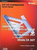 echange, troc Microsoft Corporation - Développer des services Web XML et des composants Server avec Visual Basic NET & Visual C Sharp