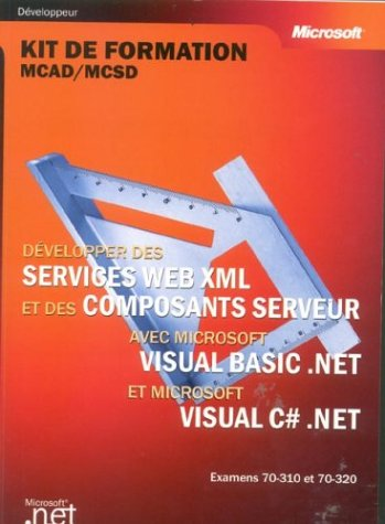 services web xml et composants serveur visual basic . net