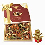 Chocholik Colorfull Tasty Cocktail Dry Fruit Dryfruit With Ganesha Idol - Chocholik Dry Fruits