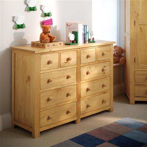 Oxbury Pine Chest Multi Drawer