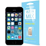 SPIGEN SGP Screen Protector Set Ultra Crystal Mix Steinheil for iPhone 5S / 5