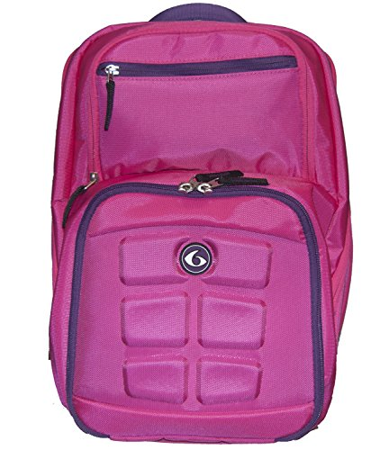 6 Pack Fitness Expedition Backpack 300 Pink/Purple