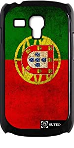 Coque pour Samsung Galaxy S3 mini - Drapeau Portugal Vintage - ref 137