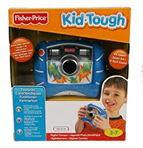 Fisher-Price Kid-Tough Digital Camera (Blue)