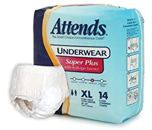 Attends Super Plus Absorbency Protective Underwear size X-Large by Attends