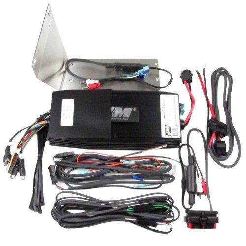 J/&M Audio 200 Watt 2 Channel Amp Kit 2014 /& Up Harley Ultra Street Glide Trike