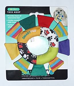 Smart Paw - Mini Toss Hoop Dog Toy for Small Dogs