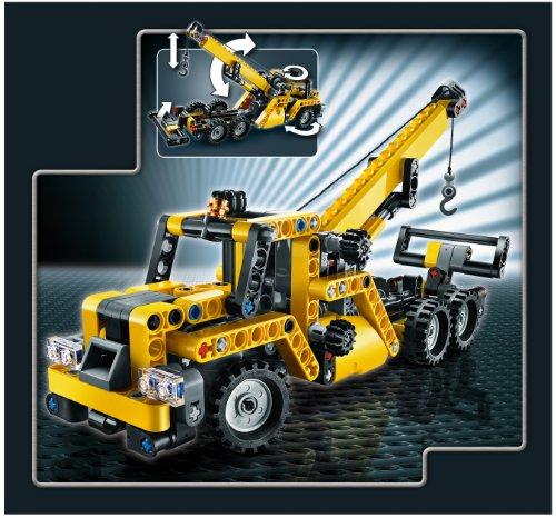 Lego technic 8067 jeu de construction la mini grue mobile jouets pour - Jeux de grue de construction gratuit ...