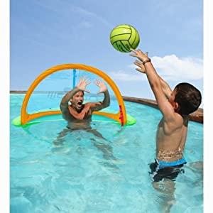 DECATHLON Easy-to-carry Floating Water Polo Goal 8182606