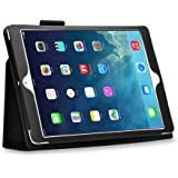 IPad Air Case, Leather Flip Cover Book Case With Stand (wake And Sleep) For Apple IPad Air - Black