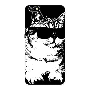 Impressive Thug Cat Back Case Cover for Honor 4X
