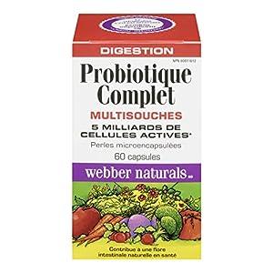 Webber Naturals Complete Probiotic, Multi Strain, 5 billion active cells, 60 capsules