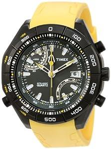 Timex Men's T2N730 Intelligent探险系列黄颜色$74.3