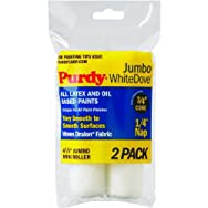 Purdy Corp. 140624010 Jumbo White Dove Mini Woven Fabric Roller Cover