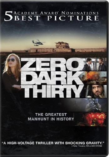 Zero Dark Thirty (+UltraViolet Digital Copy) (Directed by Kathryn Bigelow) - For a decade, an elite team of intelligence and military operatives, working in secret across the globe, devoted themselves to a single goal: to find and eliminate Osama bin Laden. Zero Dark Thirty reunites the Oscar winning team of director-producer Kathryn Bigelow and writer-producer Mark Boal (The Hurt Locker) for the story of history's greatest manhunt for the world's most dangerous man.