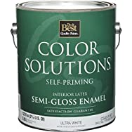 Color Solutions Self-Priming Latex Semi-Gloss Interior Wall Paint-INT S/G ULTRA