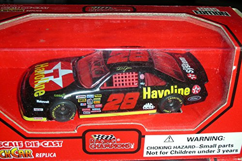 1995 1:43 NASCAR #28 DALE JARRETT TEXACO HAVOLINE FORD THUNDERBIRD RYR T-BIRD - 1