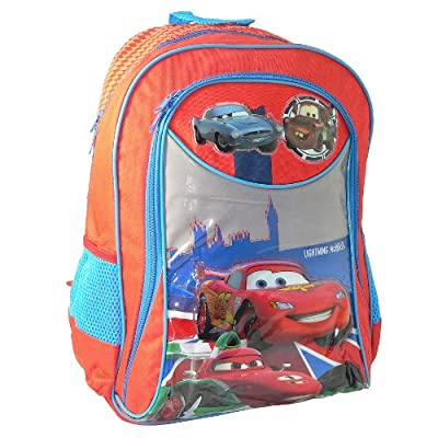 "Disney Cars 2 Kids X-large 16"" School Bag Backpack Rucksack -"