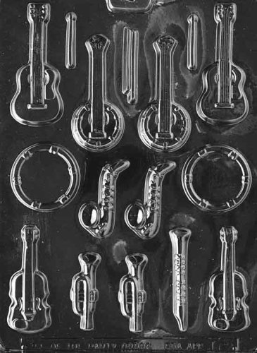 MUSICAL INSTRUMENTS Jobs Candy Mold Chocolate