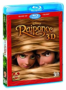 Raiponce [Combo Blu-ray 3D + Blu-ray + Copie digitale]