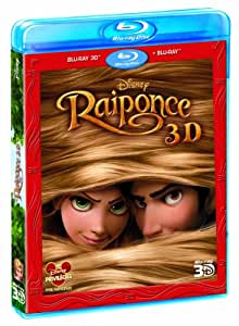 Raiponce [Combo Blu-ray 3D + Blu-ray + Copie digitale]