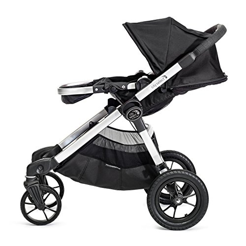 Baby Jogger City Select Stroller In Onyx, Silver Frame