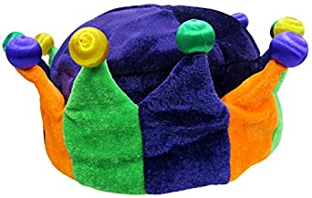 Jacobson Hat Company Women's Mardi Gras Light-Up Crown, Multi, One Size