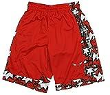 Chicago Bulls NBA Red Pride Mens Basketball Shorts