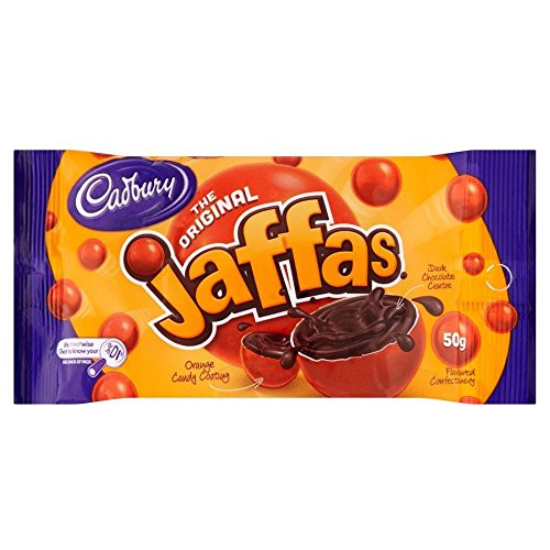 Cadbury Jaffas Orange Coated Chocolate (50g)