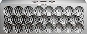MINI JAMBOX by Jawbone Wireless Bluetooth Speaker - Silver Dot - Retail Packaging