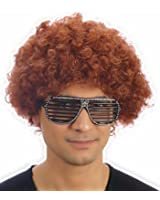 Curly Afro Wigs Fancy Dress Funky Wig Disco Clown Mens/Ladies Unisex 11 Colours