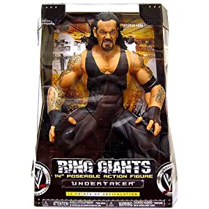 WWE Jakks Pacific Wrestling Action Figure Ring Giants Series 9 Undertaker
