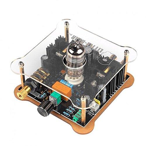 SainSmart LITTLEBEAR P1-CLEAR Match 12AU7 6922 Tube Headphone Amplifier EU Transparent