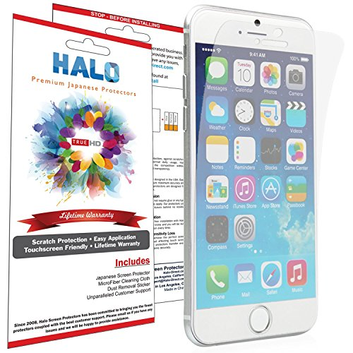 halo-screen-protector-film-high-definition-hd-clear-invisible-for-iphone-6-3-pack-lifetime-replaceme