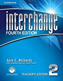 img - for Interchange Level 2 Teacher's Edition with Assessment Audio CD/CD-ROM (Interchange Fourth Edition) book / textbook / text book
