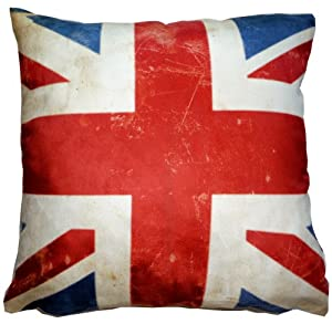 Union Jack - British Flag Luxury Pillow