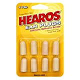 Hearos Ear Plugs Ultimate Softness Series, 8 Count