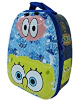 Nick Jr Spongebob Carry All Tin Box - Lunch Box with zipper
